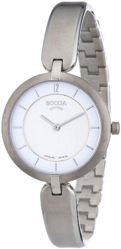 Boccia B3164-01 Ladies Half Bangle Titanium Bracelet Watch