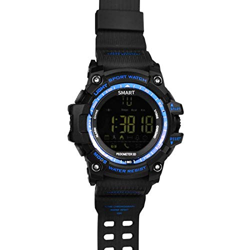 Fstn Lcd - DBCSD Watches 1.12 Inch FSTN LCD Full Angle Screen Display Sport Smart Watch, IP67 50M Professional Waterproof, Support Pedometer/Stopwatch/Alarm/Notification Remind/Call Notify/Came