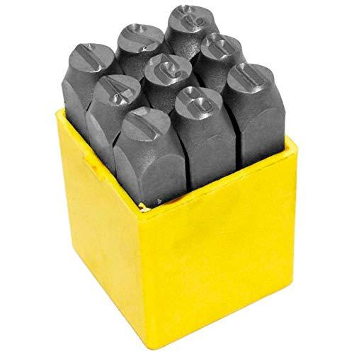 Pino de 0-9 Para Marcar Ferro (6 mm) - Brasfort