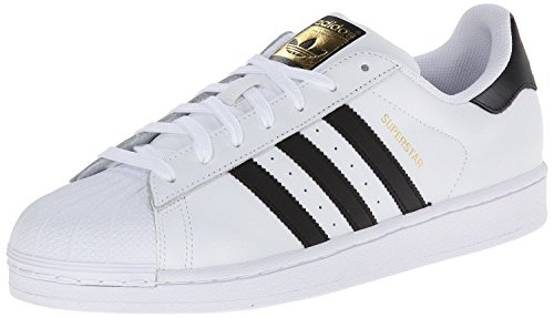 adidas Originals Herren Superstar Fashion Sneaker Weiß / Schwarz / Metallic Gold