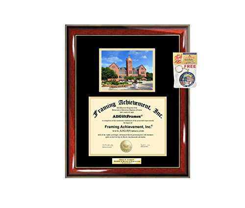- Diploma Frame UCO University of Central Oklahoma Graduation Gift Idea Engraved Picture Frames Engraving Degree Graduate Bachelor Masters MBA PHD Doctorate School