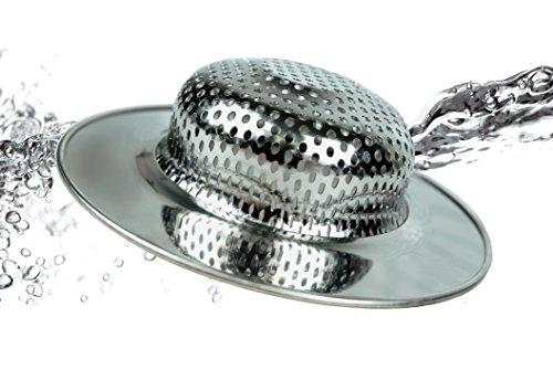 RSVP Endurance Pierced Wide Rim Sink Strainer (SINK-4)