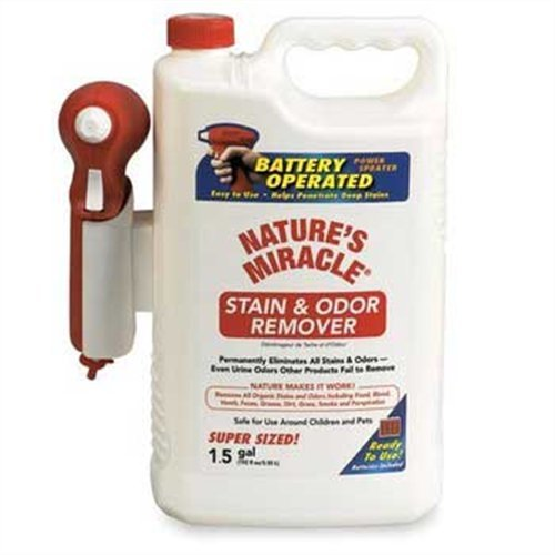 Natures Miracle Advanced Stain and Odor Remover Power Sprayer, 192-Ounce, My Pet Supplies