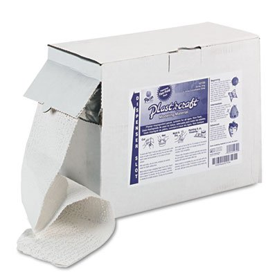 (Create Unique Class Projects with These Plaster-impregnated Gauze Strips. - PACON Corporation Plast'r Craft, Gray, 20 lbs)
