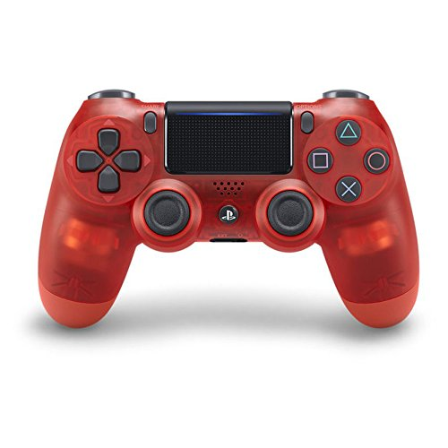 Sony Dualshock 4 Wireless Controller for PlayStation 4 -  Red CRYSTAL - PlayStation (Wireless Crystal Touchpad)