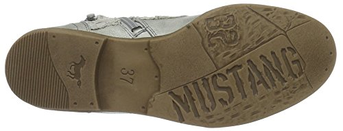 546 21 Silber Mustang 21 Silber Classiques Femme 1157 Argent Bottes pPE5w