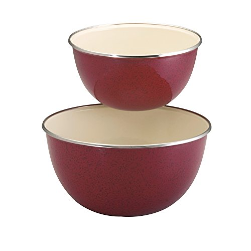 paula dean red speckled cookware - 6