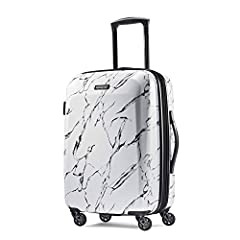 """Book opening case with mesh divider and cross straps in main compartment with a zipped modesty pocket. Single spinner wheels for a smooth ride. All cases expand 1.5""""."""