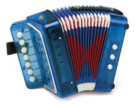 5Star-TD Hohner Toy Accordion - Blue by 5Star-TD