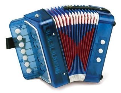 Hohner Toy Accordion - Blue USA