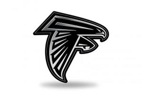 Rico Industries NFL Atlanta Falcons Chrome Finished Auto Emblem 3D Sticker