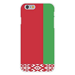Apple iPhone 6 Custom Case White Plastic Snap On - Belarus - World Country National Flags