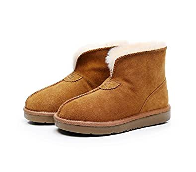 LUXY UGG Slippers (US 5, Chestnut)