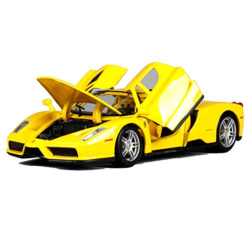 LUCKYCAR 1:24 Ferrari Enzo Simulation Alloy car Model,The Hood and Left and Right Doors can be Opened,Car Collection, Static Model, Metal Casting ()