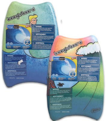 17 Inch Soft Boogie Board Wham-O (6 Pieces)
