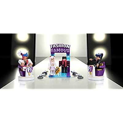 Roblox Celebrity Collection - Fashion Famous Playset [Includes Exclusive Virtual Item]: Toys & Games