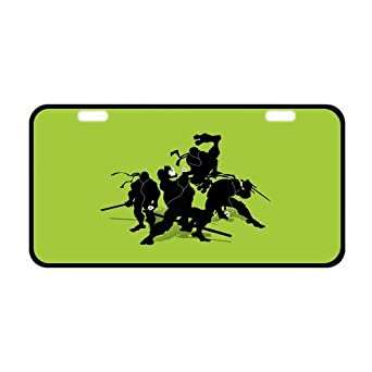 Teenage Mutant Ninja Turtles Tmnt License Plate License Frame Custom