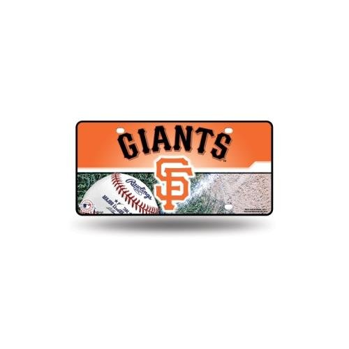 MLB San Francisco Giants Metal Auto Tag (San Francisco Giants Metal)