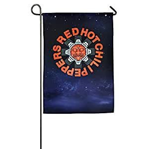 Red Hot Chili Peppers Logo Garden Flags Party
