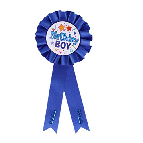 (Medal Ribbon - Delicate Birthday Girls Boys Award Ribbon Rosette Badge Pin Children 39 S Party Decor Supply Favors - Party Boys Decor Favors Favor Party Decorations Birthday Suppli)
