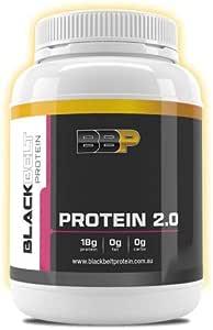 Black Belt Protein 2.0, with Zero Carbs & Zero Fats (Dragon Fruit,1KG)