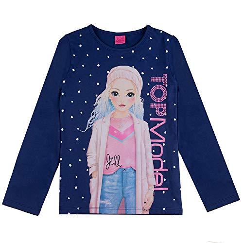 Top Model meisjes shirt met lange mouwen Jill 85023