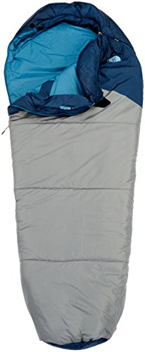 ( The North Face Aleutian 20/-7 Sleeping Bag Cosmic Blue/Zinc Grey Regular Length Right Hand Zip)