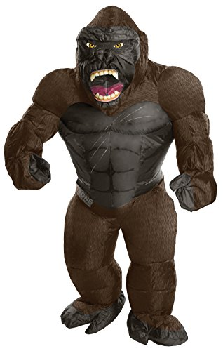 Rubie's Costume Co. Men's Skull Island Inflatable King Kong Costume, As Shown, One (Inflatable Mascot Costume)