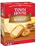 Keebler Town House Light Buttery Crackers Wheat