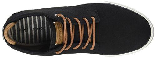 118 lt Cam 1 Brw Alto Esparre Sneaker Uomo Collo A Chukka Lacoste blk Nero xOwEtq7t