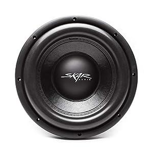 "Skar Audio VD-10 D2 10"" 800W Max Power Dual 2 Ohm Shallow Mount Car Subwoofer"