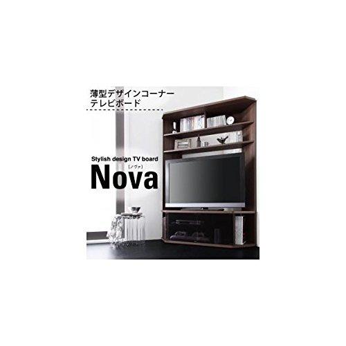 ハイタイプコーナーテレビボード Nova ノヴァ ブラウン B007SROARW Parent