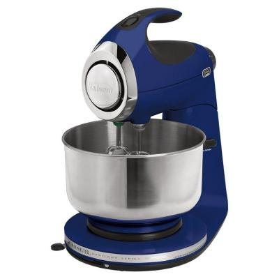 Durable Metal-casted Stand Mixer, with Heavy-Duty Accessories, Cobalt Blue, 12-Speed from Sunbeam