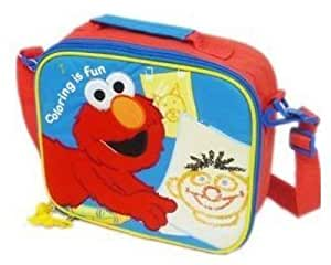 Sesame Street Elmo Coloring Is Fun Insulated Square Lunch Box Bag
