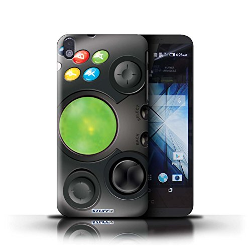 Kobalt® Imprimé Etui / Coque pour HTC Desire 816 / Xbox conception / Série Console (jeux vidéo)