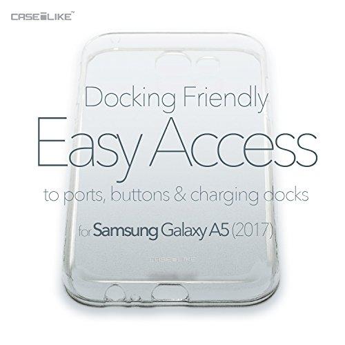 CASEiLIKE Funda Samsung Note 8 , Carcasa Samsung Galaxy Note 8, Graffiti 2703, TPU Gel silicone protectora cover Arte de la mandala 2300
