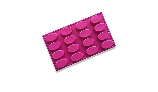 Molde para tartas - Moldes para tartas - Molde para magdalenas 29,3 x 17 x 1,7 cm molde para cupcakes, gelatina, chocolate, molde para pasteles, ...