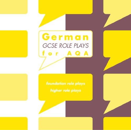 German GCSE Role Plays for AQA Audio CD Sue Smart