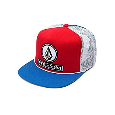Volcom Men's Dually Cheese Five Panel Trucker Hat by Volcom