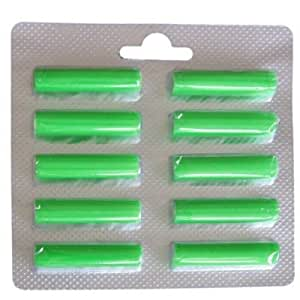 Staubbeutel Profi - Ambientadores para aspiradoras Vorwerk (30 unidades), color verde