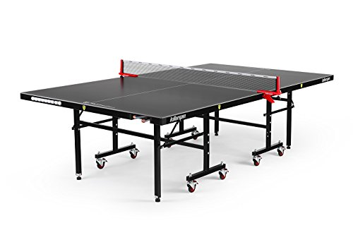 Killerspin MyT7 BlackStorm Table Tennis Table – Black Pocket Outdoor Ping Pong Table with Playback Position and Quick Assembly Review