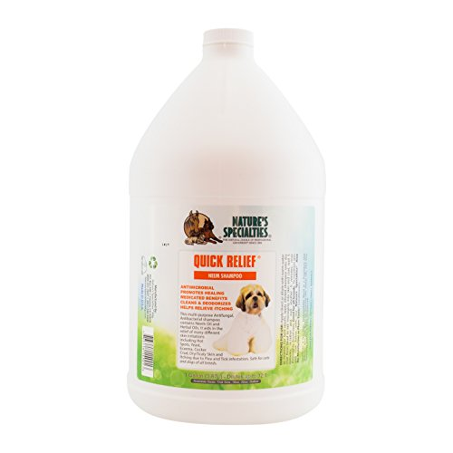 Nature's Specialties Quick Relief Neem Shampoo for Pets -