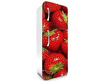 Kühlschrank Aufkleber : Dimex line kühlschrank aufkleber erdbeeren 65 x 180 cm stickers