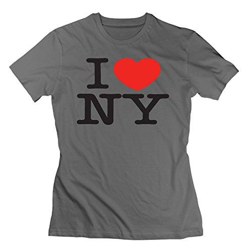 Women's Cool I Love NY Heart New York Tshirts Size S ()