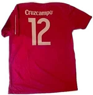 Camiseta Selección Española Original RFEF - Patroc.Cruzcampo (XL): Amazon.es: Deportes y aire libre