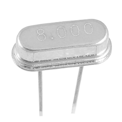 Uxcell a11072500ux0336 Crystal Oscillator HC-49S Low Profile, 8.000 MHz - 8 MHz, 50 Piece
