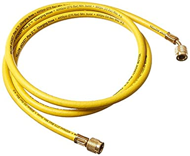 "Yellow Jacket 21072 Plus II Hose Standard 1/4"" Flare Fittings, 72"""