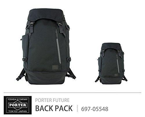 6193a14eeae4 Amazon | [ポーター]PORTER フューチャー FUTURE バックパック 697-05548 ブラック/10 |  タウンリュック・ビジネスリュック