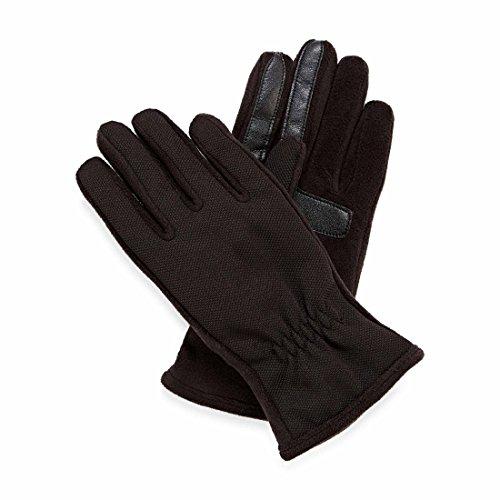 Isotoner Women's SmarTouch Thermaflex Lined Fleece Gloves - Black - M/L