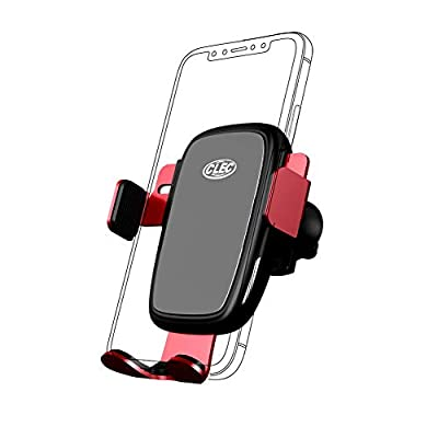 Wireless Charging Phone Holder,Electric Automatic Retractable Air Vent Holds Mount fit for Audi A6 2020 2020,Car Phone Mount fit for iPhone 8,X,XS fit for Samsung S9,S10 Smartphone